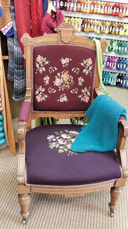 Needlepointchair