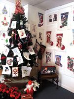 Christmas Tree at Nasvhille Needleworks